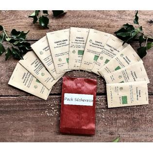 Pack tomates sécheresses 10 variétés